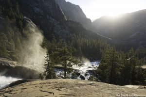 Waterwheel Falls Overlook Tuolumne Yosemite