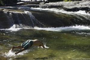 Swimming Tuolumne River Yosemite