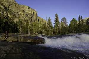 Waterwheel Falls Grand Canyon Of The Tuolumne Yosemite